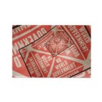 No World Government Rectangle Magnet (100 pack)