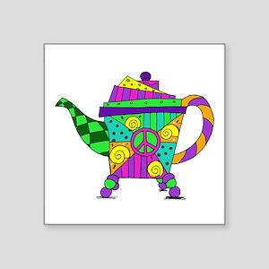 Teapot Design #1 Sticker