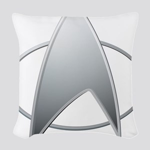 STAR TREK TNG Woven Throw Pillow