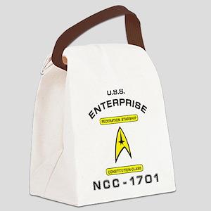 STAR TREK NCC-1701 Canvas Lunch Bag