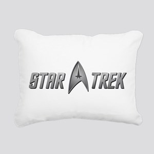 STAR TREK silver 2 Rectangular Canvas Pillow