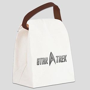 STAR TREK silver 2 Canvas Lunch Bag