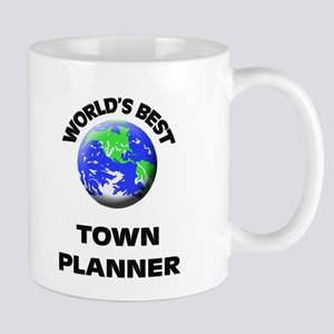 World's Best Town Planner Mug