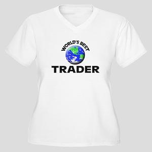 World's Best Trader Plus Size T-Shirt