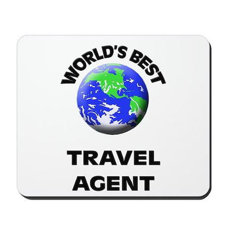 World's Best Travel Agent Mousepad