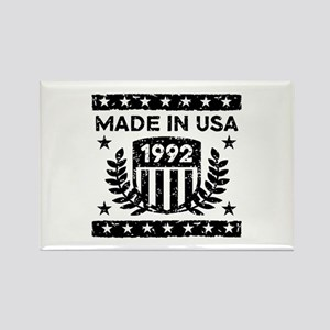 Made In USA 1992 Rectangle Magnet