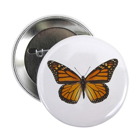 "Monarch Butterfly 2.25"" Button (100 pack)"