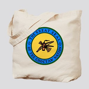 Great Seal Of The Choctaw Nation Tote Bag