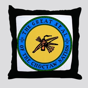 Great Seal Of The Choctaw Nation Throw Pillow