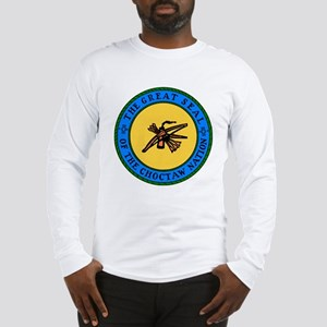Great Seal Of The Choctaw Nation Long Sleeve T-Shi