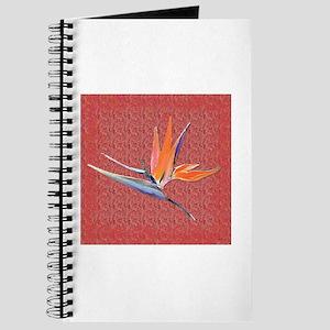 Pink Bird of Paradise Journal