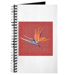Pink Bird of Paradise Journal