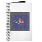 Blue Bird of Paradise Journal