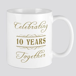 Celebrating 10 Years Together Mug