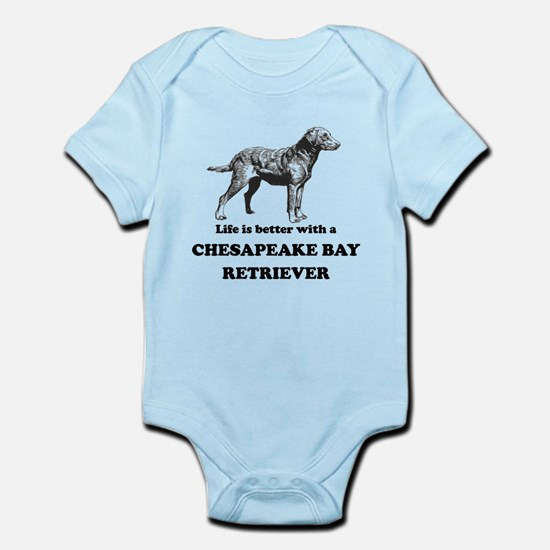 Life Is Better With A Chesapeake Bay Retriever Bod