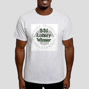 $$I Lottery Winner Ash Grey T-Shirt