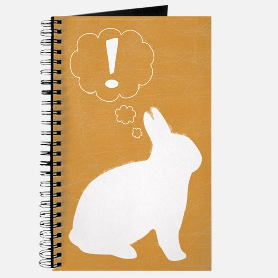 Gold Plot Bunny Journal