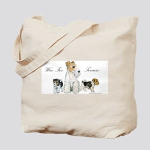 Fox Terrier Family Tote Bag