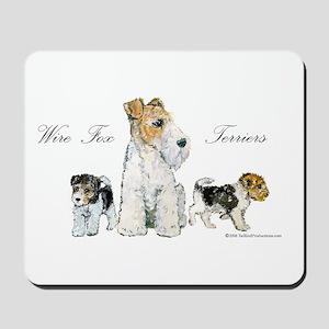 Fox Terrier Family Mousepad