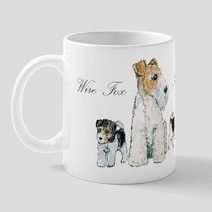 Fox Terrier Family Mug