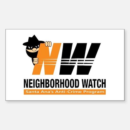 Santa Ana Neighborhood Watch Decal