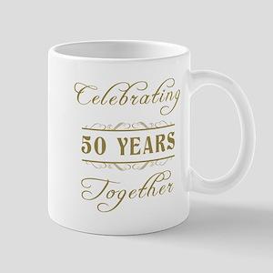 Celebrating 50 Years Together Mug