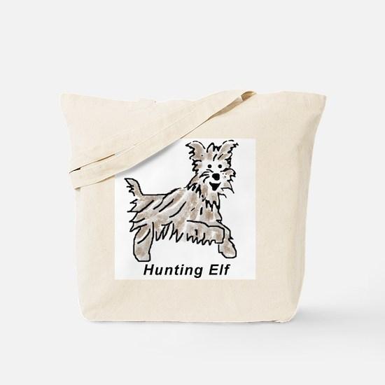 Hunting Elf Tote Bag
