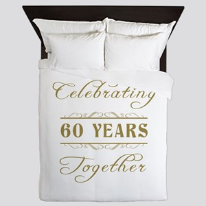 Celebrating 60 Years Together Queen Duvet
