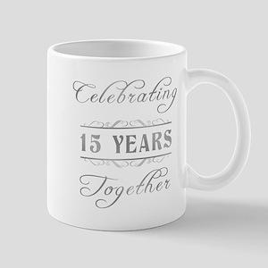 Celebrating 15 Years Together Mug