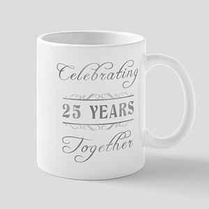 Celebrating 25 Years Together Mug
