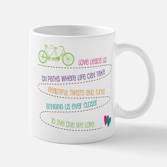 Love For Two Bicycle Mug