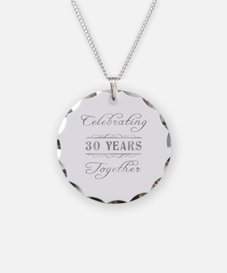 Celebrating 30 Years Together Necklace