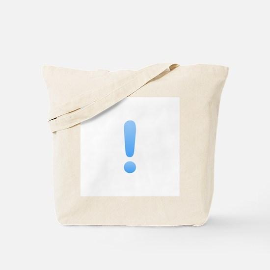 Quest Mark - Blue Tote Bag