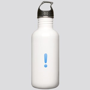 Quest Mark - Blue Water Bottle