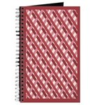 Rose Op Art Trellis Journal