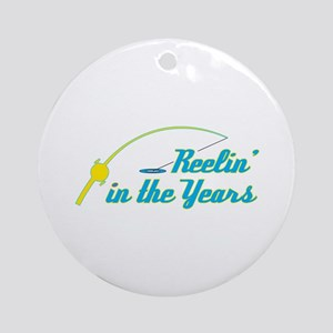 Funny Fishing Humor Ornament (Round)