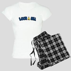 Funny Fishing Humor Women's Light Pajamas