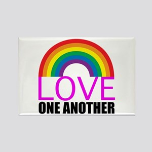 Love One Another Rectangle Magnet