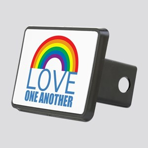 Love One Another Rectangular Hitch Cover