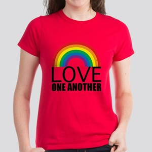 Love One Another Women's Dark T-Shirt