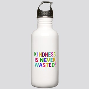 Kindness is Never Wasted Water Bottle