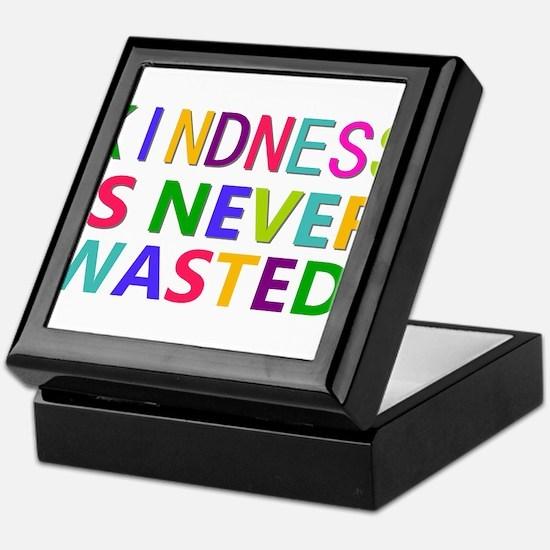 Kindness is Never Wasted Keepsake Box