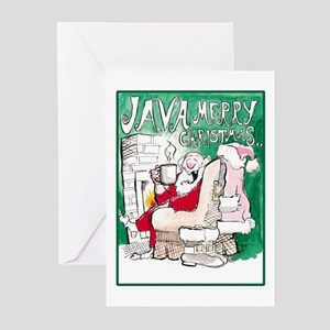 Java Merry Christmas (Pack of 6)