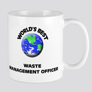 World's Best Waste Management Officer Mug