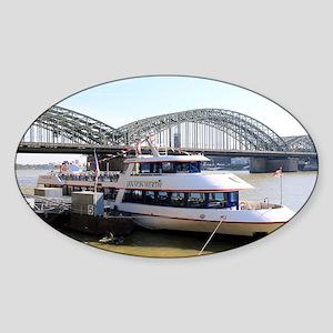 Hohenzollern Bridge, Cologne, Germany Sticker