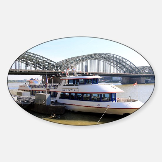 Hohenzollern Bridge, Cologne, Germany Decal