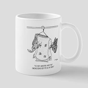 Moth Cartoon 3152 11 oz Ceramic Mug