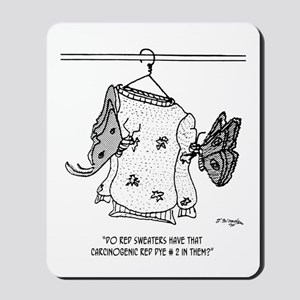 Moth Cartoon 3152 Mousepad