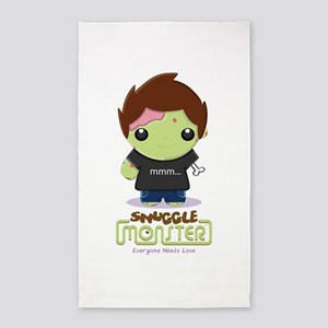 Cute Zombie 3'x5' Area Rug