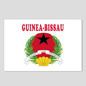 Guinea Bissau Coat Of Arms Designs Postcards (Pack